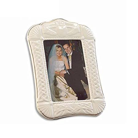 Belleek Pottery Irish Claddagh Porcelain Photo Frame - Delivery from ...