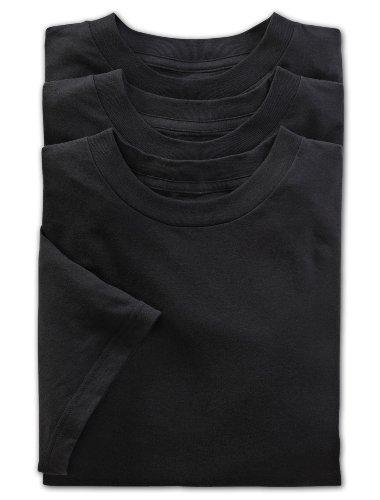 Harbor Bay Big And Tall (Harbor Bay by DXL Big and Tall Color Crewneck T-Shirts 3-Pack (6X))