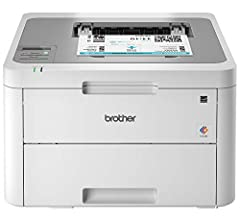 The reliable Brother HL L3210CW compact digital color printer is a great choice for the busy home or small office looking for laser printer quality. It easily and affordably adds color to your printing and lets you enjoy high quality, sharp t...