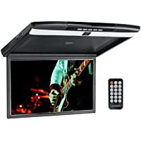 Accele AXFD17HDWF 17 Inch Over Head Flip Down LCD Monitor with Dual HDMI inputs and Built in WiFi