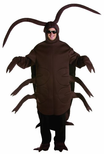 Rasta Imposta Cockroach, Brown, One Size Fits Most