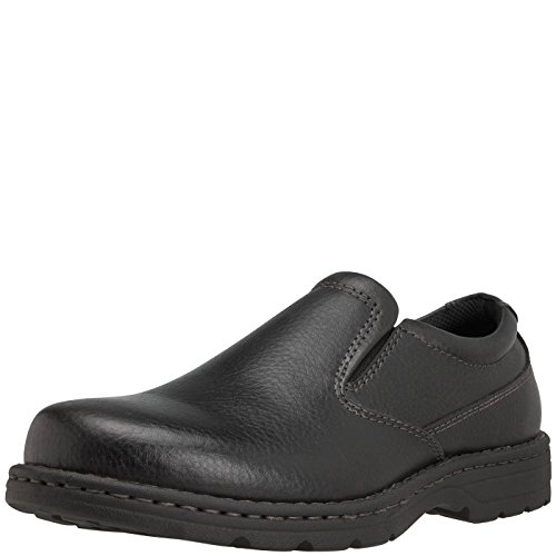Hunter's Bay Black Men's Eastborough Slip-On 9.5 (Width Mens Shoes)