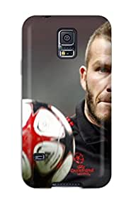 Ultra Slim Fit Hard Mary Elizabeth Mihas Case Cover Specially Made For Galaxy S5- David Beckham