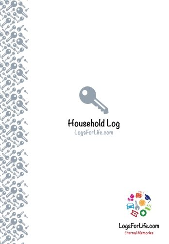 Household Log: Home Management Home Journal Home Service RecordsHousehold Reference Log Easy to Use, Clever Design with a Practical Layout ... All of Your Household Services and Contracts pdf