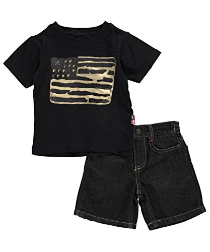 phat-farm-baby-boys-phat-flag-2-piece-outfit-black-12-months