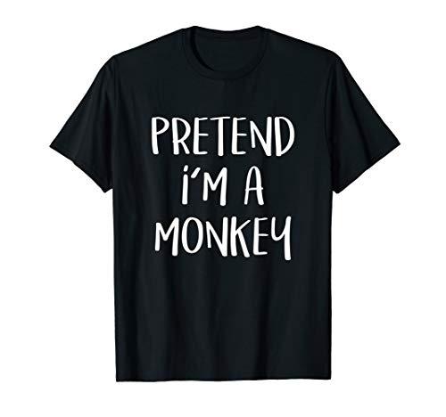 Grey Monkey Costume - Pretend I'm A Monkey Costume Funny