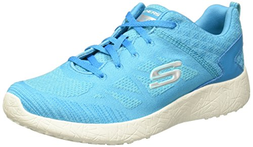 Skechers Sport Damen Burst Fashion Sneaker Blau