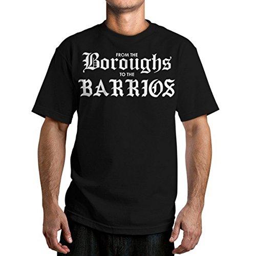 Herren T-Shirt FAMOUS STARS & STRAPS - Boroughs - Black S