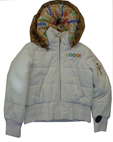 Coogi Women's Fashion Jacket White Large