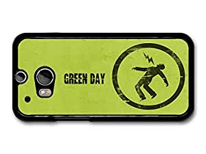 Green Day Punk Rock Band Green Logo Lighting case for HTC One M8 by Maris's Diary