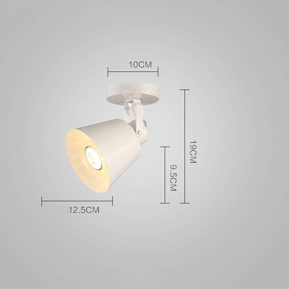 ZJⓇ Spotlight Track Light - Track Lighting Kit Chandelier Decorative Spotlight - Black/White - 5W/10W && (Color : White, Size : 10W)