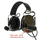 TAC-Sky COMTA II Tactical Headset Sound