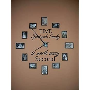Time Spent With Family With Worth Every Second #3, Wall Decal
