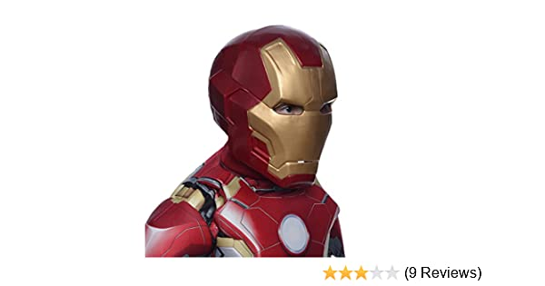 Amazon.com: Avengers 2 Age of Ultron Childs Mark 43 Iron Man 2-Piece Mask: Toys & Games