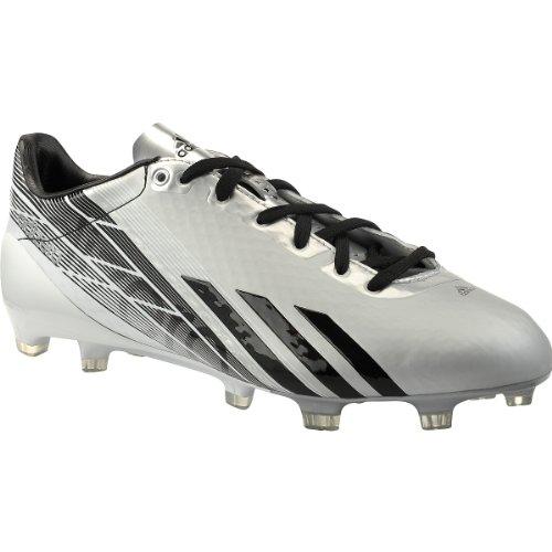 Bacchetta Da Calcio Adidas Mod. Adizero Bassa Modellata, Platino | Nero, Misura 10,5