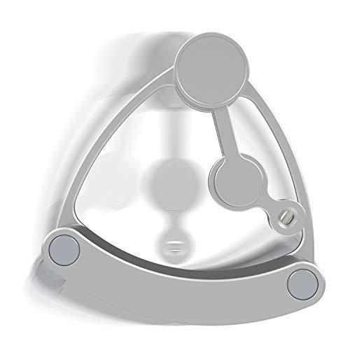 Zensuno Double Pendulum Fidget Desktop Toy Random Chaos Spinner for Kids, Adult and Geeks (Spinner and Desktop Swing Base) by Zensuno (Image #1)
