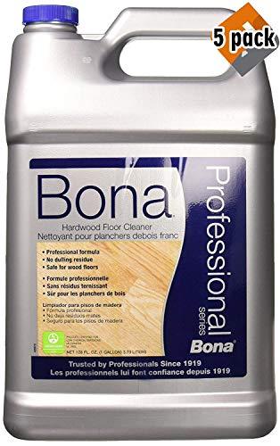 Bona Hardwood Floor Cleaner Refill, 128 oz, 5 Pack ()