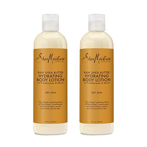 Orchid Shea Butter Hand Cream - Sheamoisture Raw Shea Butter Hydrating Body Lotion 13 Oz (2 Pack)
