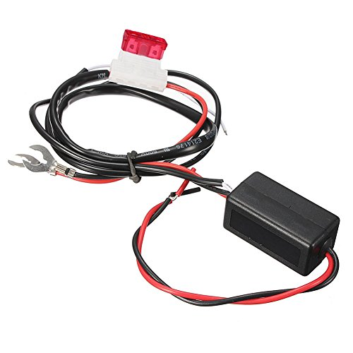 BleuMoo Car Led Daytime Running Light Relay Harness DRL Control ON OFF Automatic Dimmer