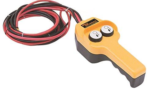 Marcador de millas (76-50100-20) Conjunto de control manual del cabrestante, amarillo