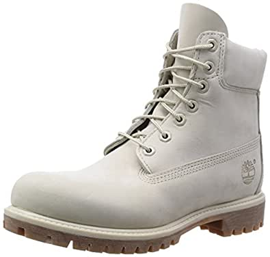Timberland TB06816B270 Men's Icon 6-in Premium Boot Angora Monochrome 11 M US