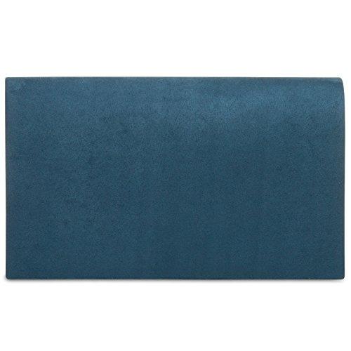 CASPAR Fashion - Cartera de mano para mujer Azul