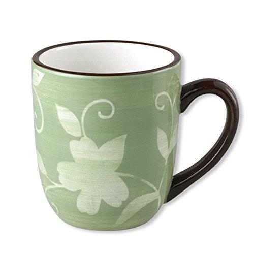 Pfaltzgraff Patio Garden Coffee Mug, 12-Ounce