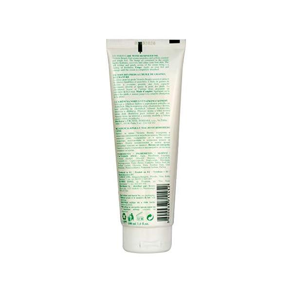 Victoria Beauty – Foot Cream with Hemp seed Oil 100 ml
