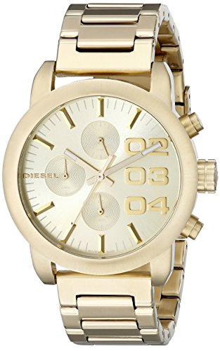 Amazon.com: Diesel Womens DZ5435 Flare Analog Display Analog Quartz Gold Watch: Diesel: Watches
