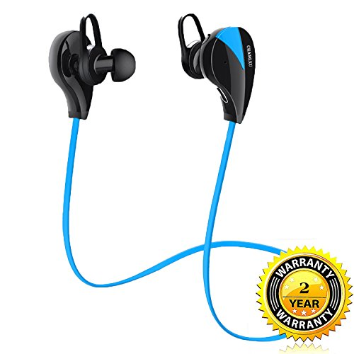 Bluetooth Headphones Workout Active Noise Canceling Headphones with Mic HD Stereo Sweatproof Anti-Drop Lightweight Noise Cancelling for Sport Gym Running Workout Calling for 8hours