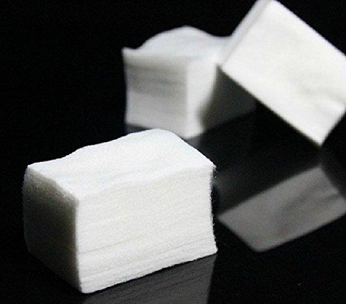 Susenstone 1000pcs Nail Art Tips Manicure Polish Remover Clean Cotton Wipes Lint Pads Paper Susenstone_1336