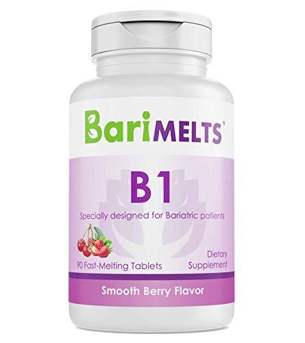 BariMelts B1, Dissolvable Bariatric Vitamins, Natural Berry Flavor, 90 Fast Melting Tablets
