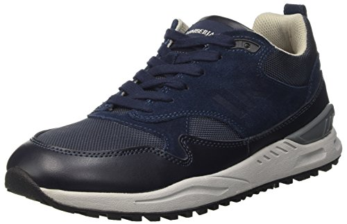 Lumberjack Herren O'Neal Low-Top Blau (Cc001 Navy Blue)