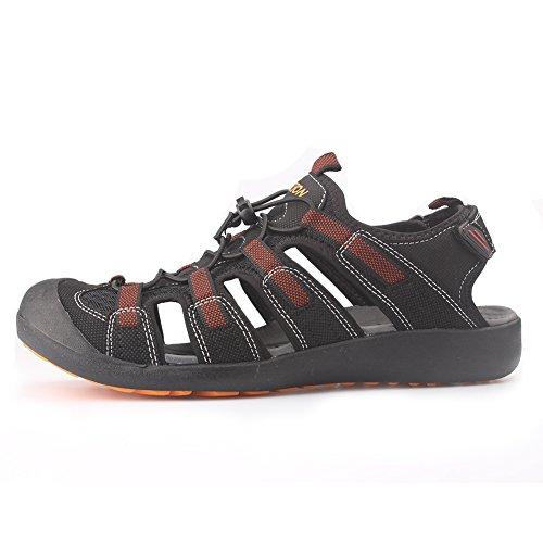 Pictures of GRITION Men's Outdoor Sandals Protective Toecap 7