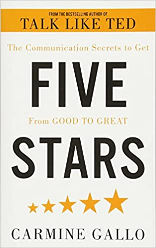 Book's Cover of Five Stars: The Communication Secrets to Get From Good to Great (Inglés) Tapa blanda – 14 junio 2018