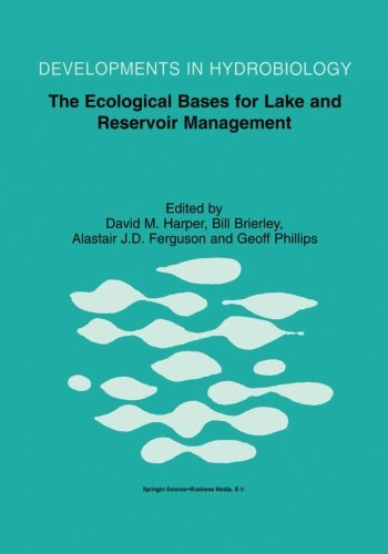 The Ecological Bases for Lake and Reservoir Management: Proceedings of the Ecological Bases for Management of Lakes and