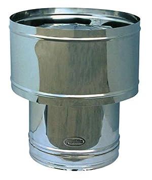 Barril Chimenea de tubo de la estufa de acero inoxidable Piemme Art.30 Speedy Ø 180 mm: Amazon.es: Bricolaje y herramientas