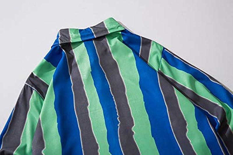 Haori Kimono Cardigan, Japanische Kimono-Strickjacke Für Męskie Lässige Lockere Langarm-Jacke Mit Offenem Aufdruck,Stripe-USXL/Tag2XL: Küche & Haushalt