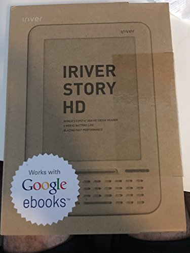 iRiver Story HD Digital EBook Reader WiFi (U.S. Version)