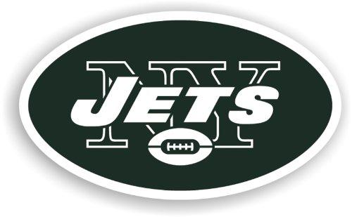 Fremont Die NFL New York Jets 12-Inch Vinyl Logo Magnet