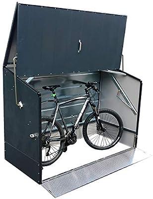 Tepro - 7170 - Cobertizo para guardar bicicletas, color antracita ...