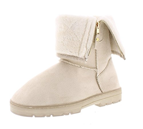 Ivory Womens Boots - 6