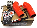 HPS 87-68426-RED-5 Red Silicone Air Intake Hose (Post MAF Tube)