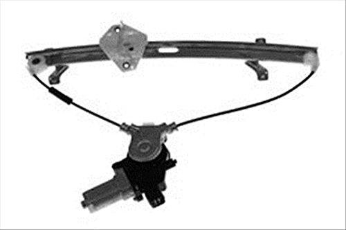 OE Replacement Honda Accord Front Passenger Side Door Glass Regulator W//Motor Partslink Number HO1351109