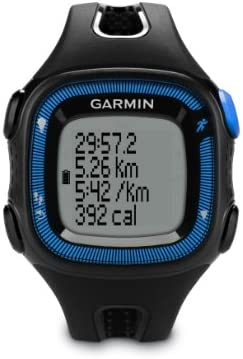 Garmin Forerunner 15 Large, Black Blue