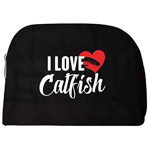 I Love Catfish Fish Fishes Pet Lover Gift - Cosmetic Case (Pet Catfish)