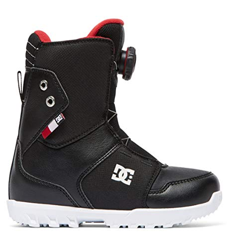 Boot Snowboard Youth Boys - DC Shoes Boys Shoes Youth Scout - 5 - Black Black 5
