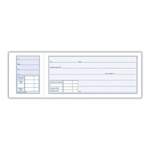 (Adams 9641 Money Receipt Book 1-part Tear-off Stub 2-3/4 X 7-15/16 Inch 50 Pages Per Book (4 Books for 200 Total Pages))