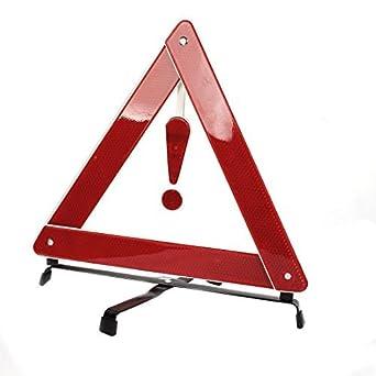 Emergencia plegable auto Rojo del coche Señal de advertencia Triángulo de Seguridad del Tráfico