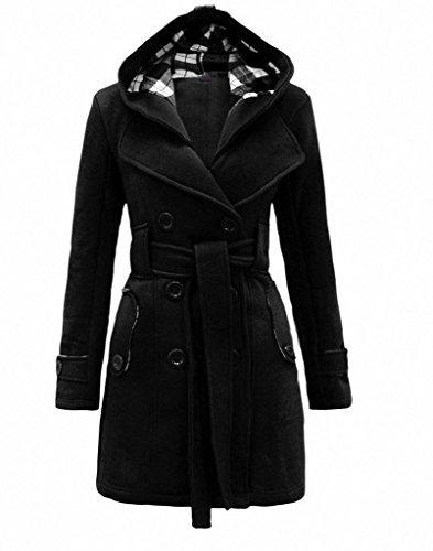 Double Breast Black Jacket - 7